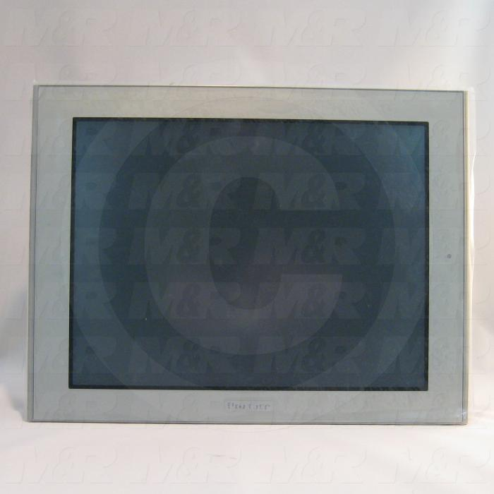 "HMI Panel, AGP Series, 12.1"", Touch Screen, TFT Color, 24VDC, RS232/422/485, RS422/485, Dual USB, Ethernet"