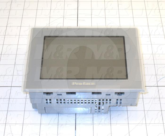 "HMI Panel, AST Series, 5.7"", Touch Screen, STN Color, 24VDC, 2 Serial Ports, USB"