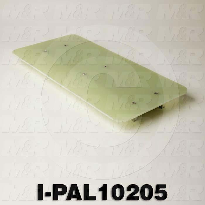 "i-Dot Composite Pallets, 10"" x 20.5"""