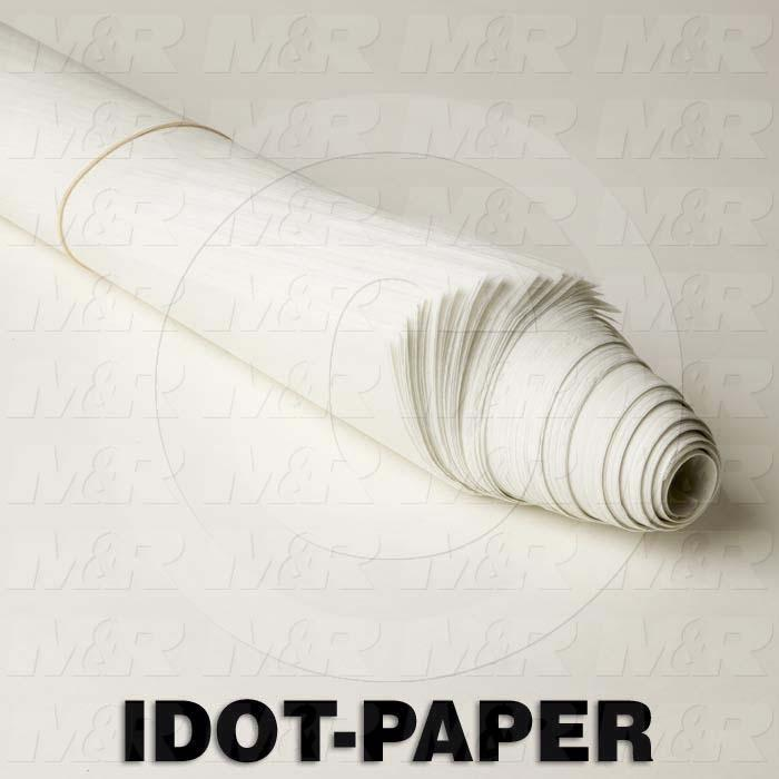 "i-Dot Parchment Paper, Silicon-Treated, 100 16""x24"" Sheets"
