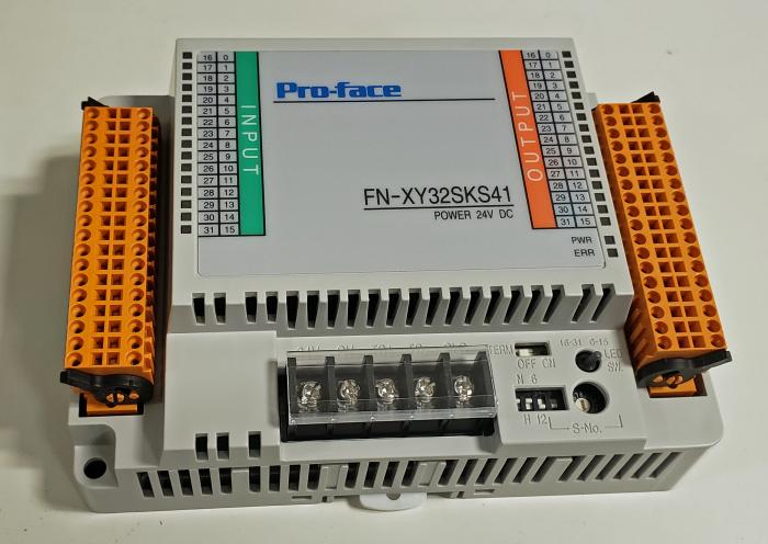 I/O Module, Flex Network, 32 Inputs, DC Sink, 32 Outputs, Transistor Sink