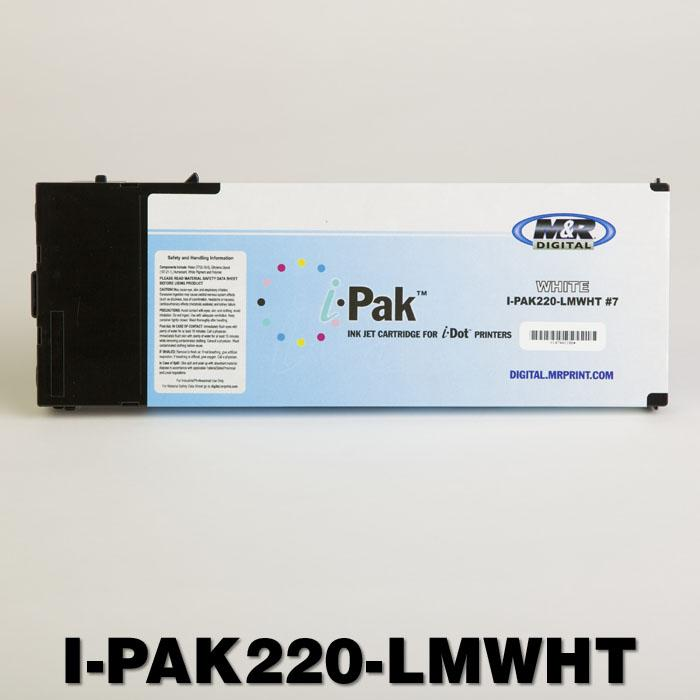 i-Pak DuPont Artistri Ink Cartridge, 220ml, Slot 7/White