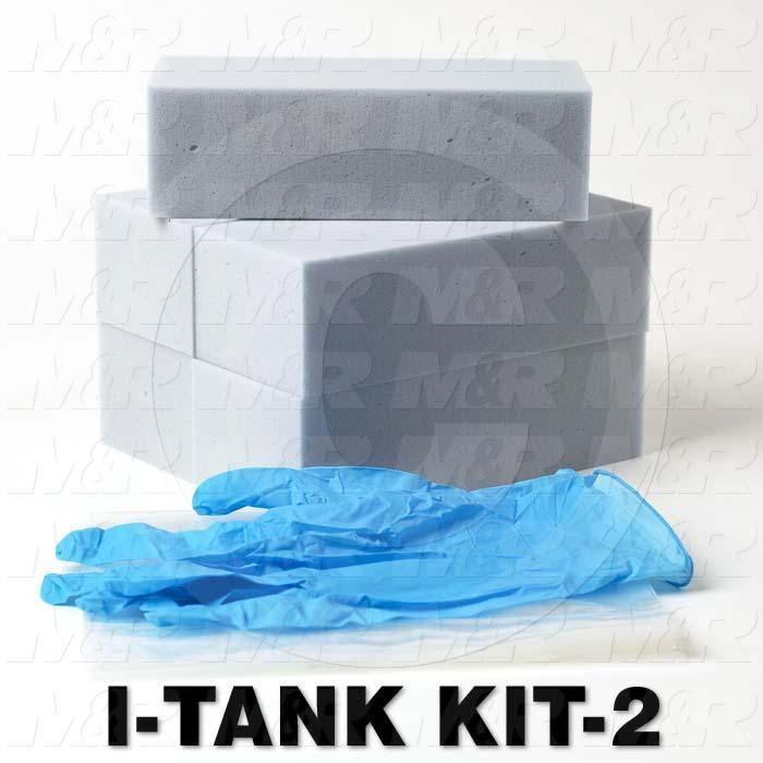i-Tank, Refill Kit for i-Dot, 5 Refills, Gloves