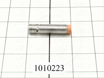 Inductive Proximity Switch, Round,12mm Diameter, Sensing Range 7mm, NPN, Normally Open, 10-30VDC