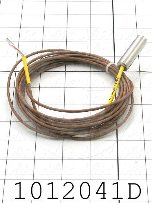 Infrared Sensor, 280-370ºF (140-190ºC), K Thermocouple Output, 5m Cable