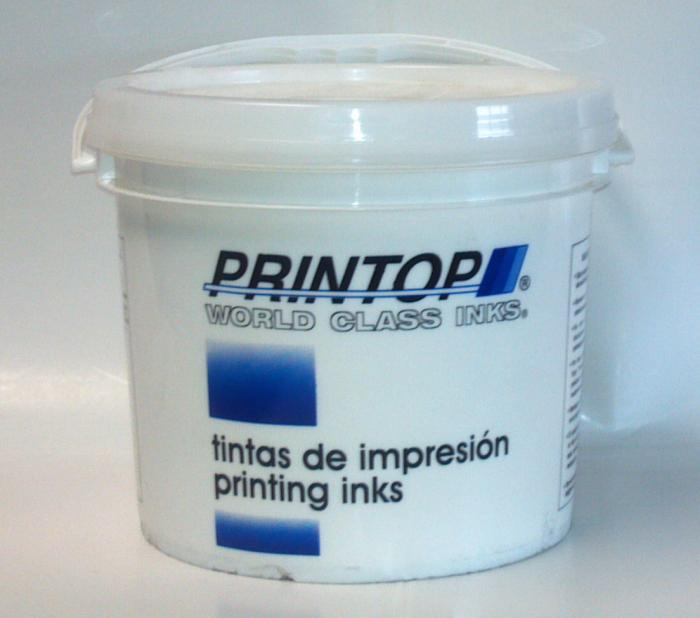 Inks, Blue Color, Type Opaque Sky PMS 298C, 5 Gal Size
