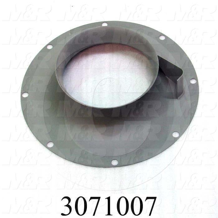 """Inlet Cone, 15"""" Wheel Diameter, 500F Temperature Rating"""