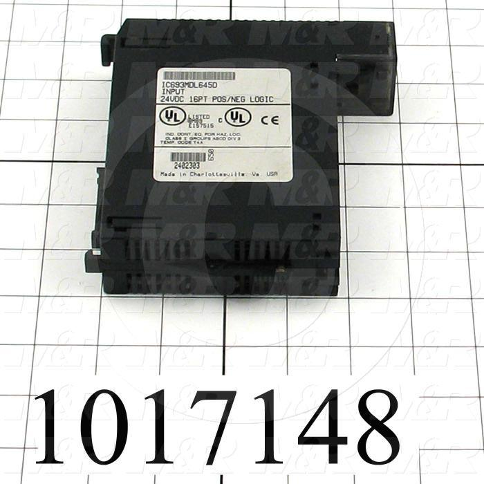 Input Module, 16 Inputs, 90-30 Series