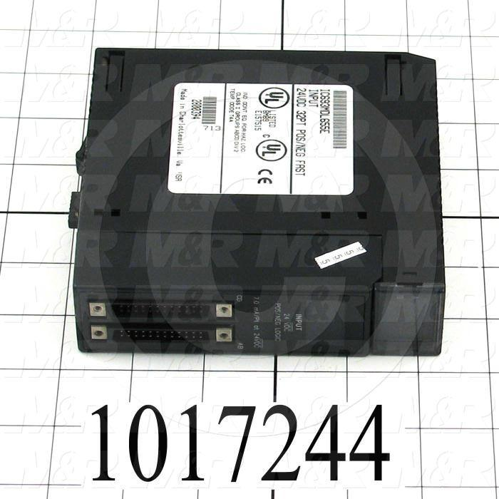 Input Module, 32 Inputs, 24VDC Positive/Negative Logic, 90-30 Series