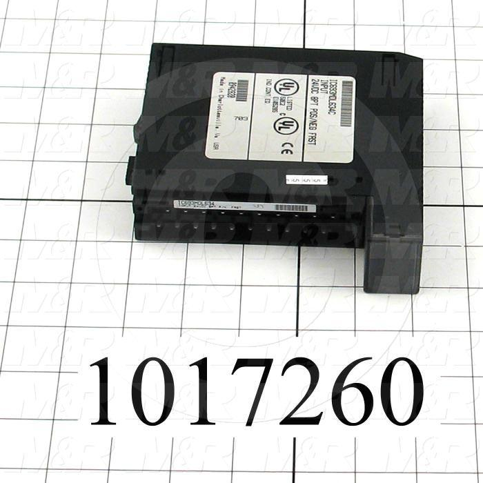 Input Module, 8 Inputs, 24VDC, 90-30 Series, Negative/Positive Common