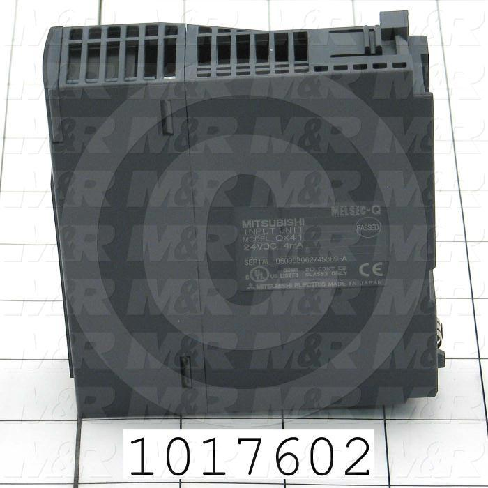 Input Module, HD-Input, 32 Inputs, Q Series, 24VDC, 4mA, Positive Common