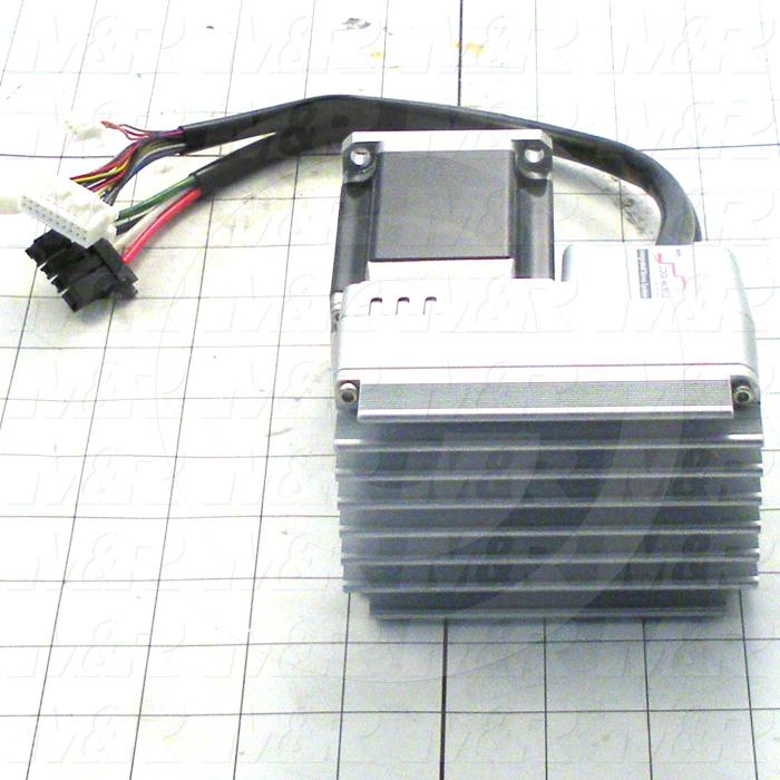 Integrated Servo, CM2, 400W, Keyed Shaft