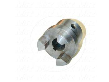 "Jaw Type Coupling, Hub # 1 Bore 0.75"", Hub # 1 Outer Diameter 1.75"", Steel Hub Material, Clamping Style Keyway & Set Screw"