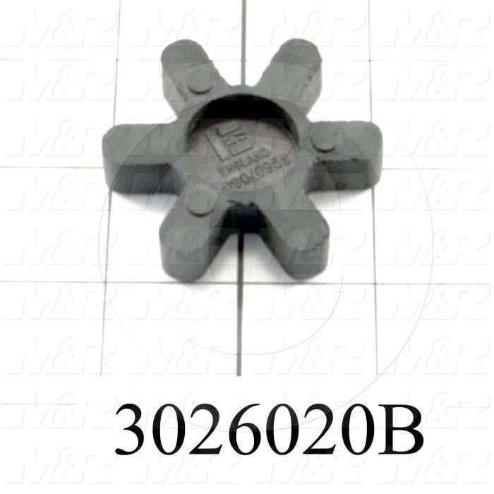 Jaw Type Coupling, Spider, Buna-N Spider Material