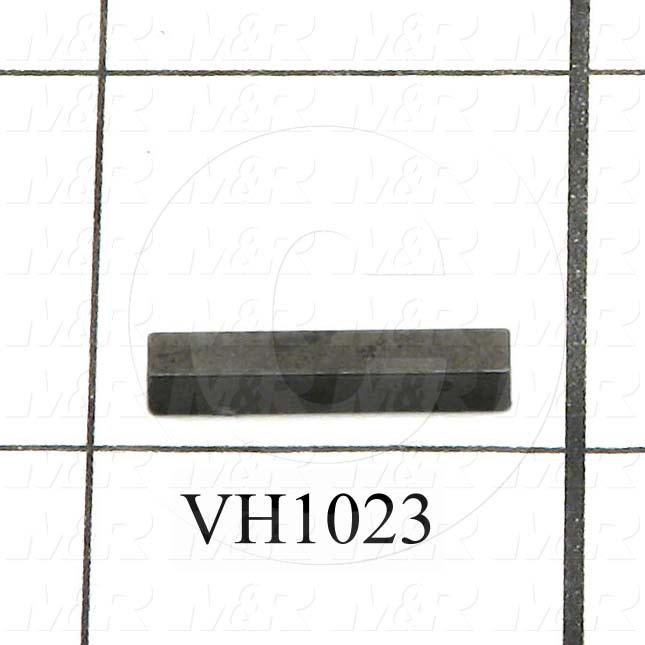 """Keys, Square Key, 1/8"""" Square Size, 0.75"""" Length"""