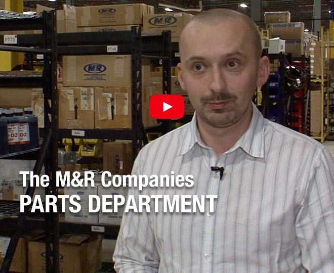 Our parts manager, Kris Bochanek, talks about the parts picking process and workflow.