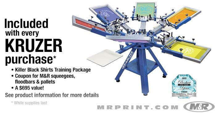 Kruzer Manual Screen Printing Press