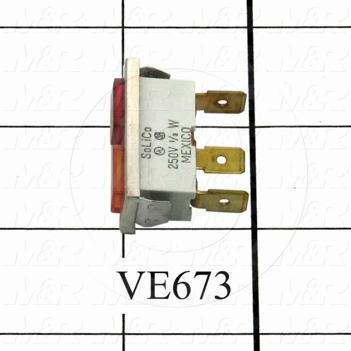 Lamp, 230V, 1/3W