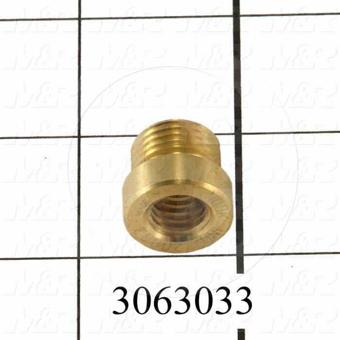 "Lead Screw and Nut, Component : Nut, Type : ACME Trapezoid Lead Screw, No. of Starts 1, Screw Size 3/8-16 RH, Pitch 1/16"", Material Bronze"