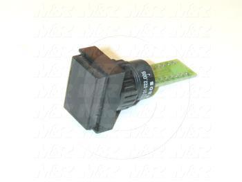 LED Readout Switch, Indicator 7-Segment, 1.9VDC, 15mA