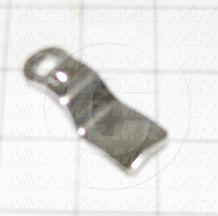 """Lock, Cam, 1.26"""" - 1.34"""" Latching Distance, Stainless Steel"""