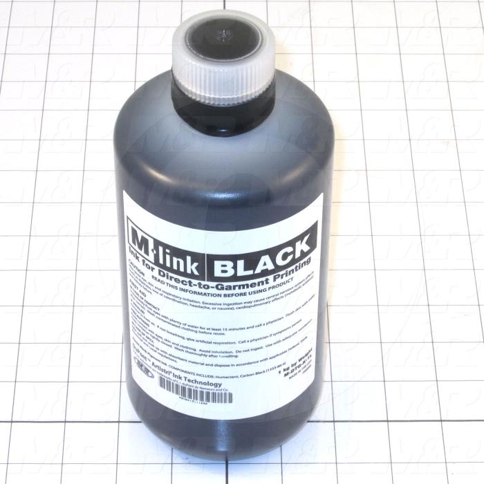 M-Link Ink, Black Color, 1 Lter Size