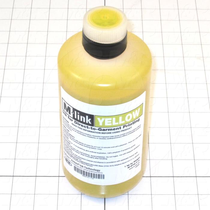 M-Link Ink, Yellow Color, 1 Lter Size