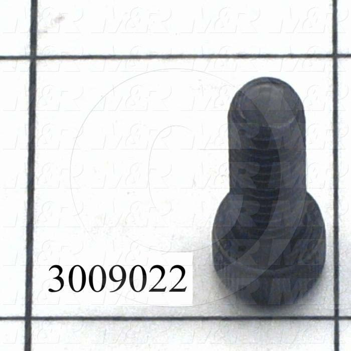 "Machine Screws, Socket Head, Steel, Thread Size 1/4-20, Screw Length 3/4"", Full Thread Length, Right Hand, Black Oxide"