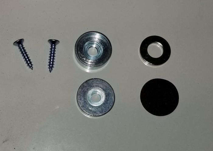 """Magnet, Round Type, 0.88"""" Thickness, 0.28 in. Diameter, 200F Maximum Notes, Neodymium Material"""