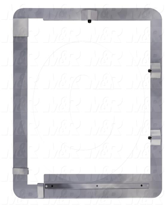 Master Exposure Registration Frames, Exposure Registration Assembly 23 X 31 Description, 31.00 in. Screen Minimum Length, 31.00 in. Screen Maximum Length, 23.00 in. Screen Minimum Width