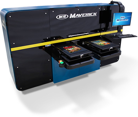 Maverick Indistrial High-Speed Direct to Garment Printing System