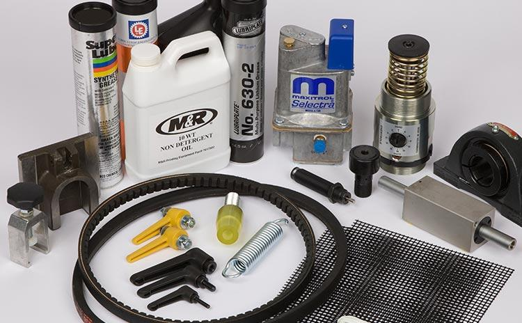 While our OEM parts offer the surest way to get the most out of your M&R equipment, our extensive inventory and low prices make us the place to go for all your parts needs.