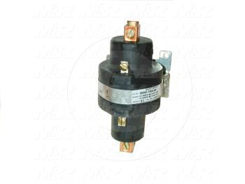 Mercury Relay, 1 Pole, Coil Voltage 120VAC, SPDT, 100A, 120V