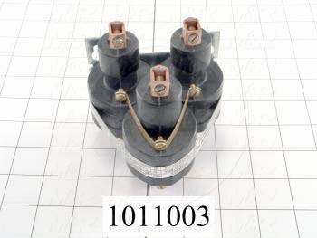 Mercury Relay, 3 Poles, 35A, 220V