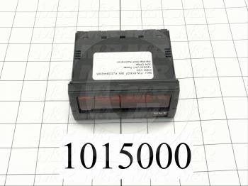 Meter, DC Current Digital Panel Meter, 120/220VAC
