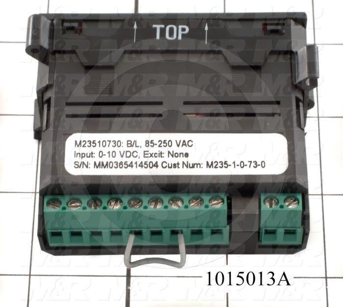 Meter, Digital, 0-10VDC, 7-Segment LCD, Red Backlight, 85-235VAC