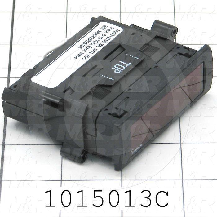 Meter, Digital, 0-10VDC, 7-Segment LCD, Red Backlight, 9-32VDC