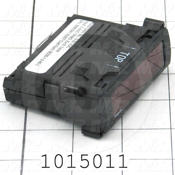 Meter, Digital, 5A AC, 7-Segment LCD, Red Backlight, 9-32VDC