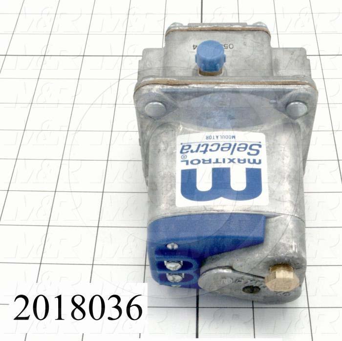 "Modulators, Thread Size 3/4"" NPT, Max. Pressure 0.5 Psi, Control Signal 0-20VDC"