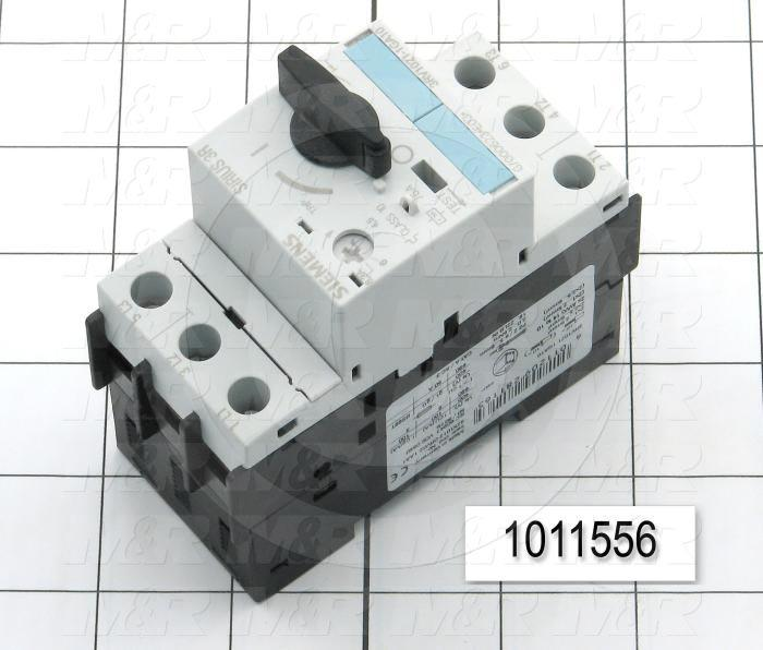 Motor Starter Protector, 4.5A Minimum Current, 6.3A Maximum Current, 3 HP @ 3PH 480VAC