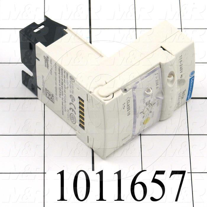 Motor Starter Protector, Single Phase, 110-240VAC, 4.5A Minimum Current, 18A Maximum Current