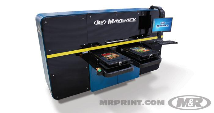 MAVERICK™ Industrial High-Speed DTG Printing System