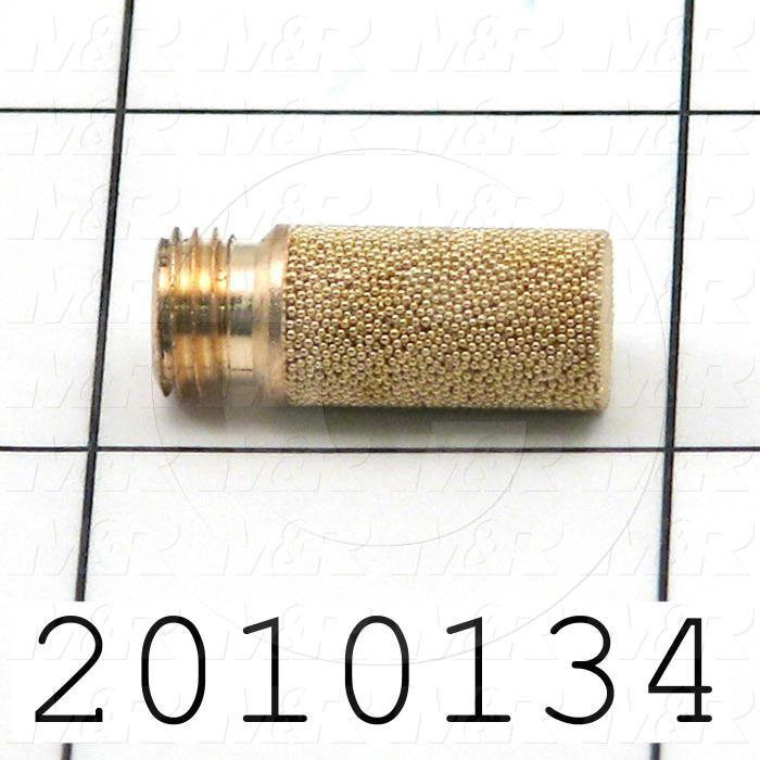 Muffler, 1/16 G Port Size IN