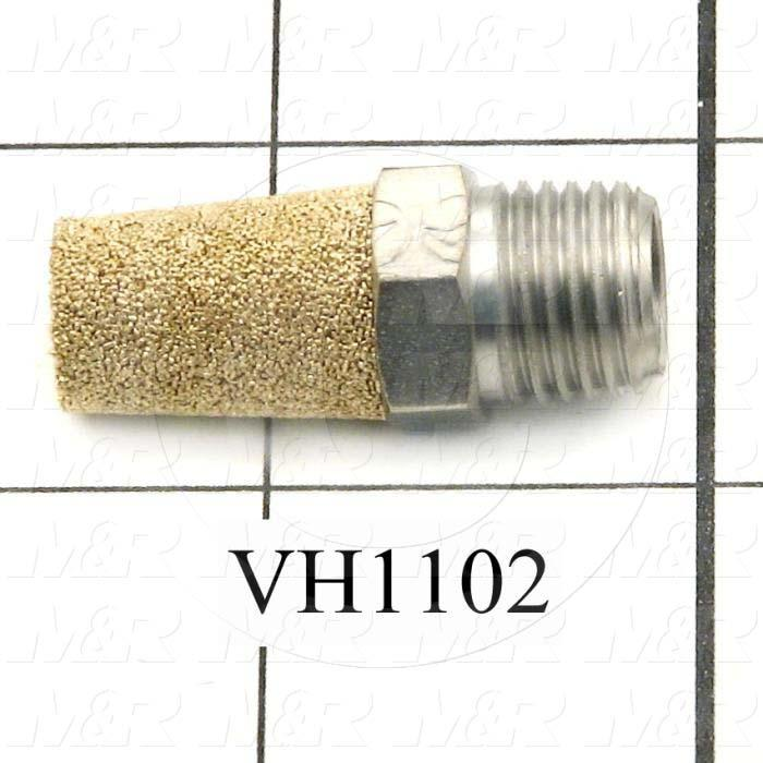 Muffler, 1/4 NPT Port Size IN