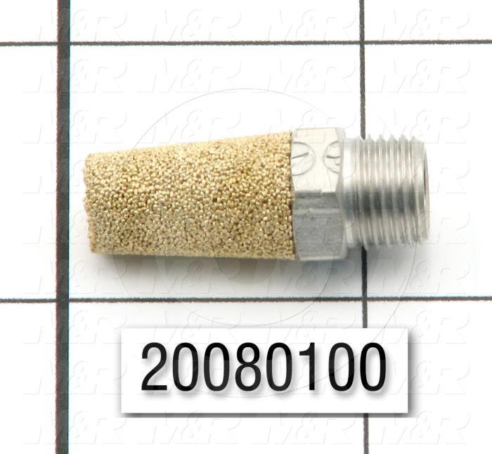 Muffler, 1/8 NPT Port Size IN
