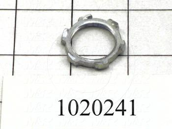 "Nut, Lock Nut, Use For 1/2"" Conduit"