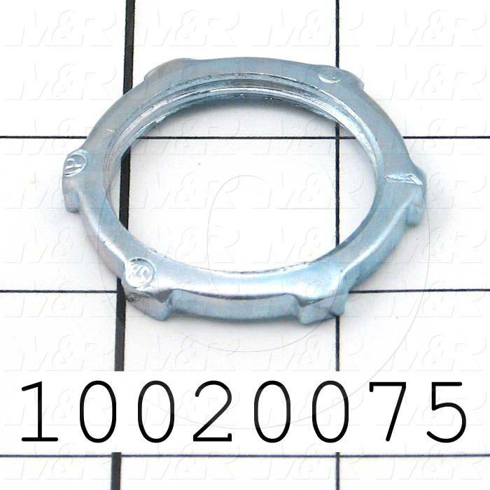 "Nut, Lock Nut, Use For 1"" Conduit"