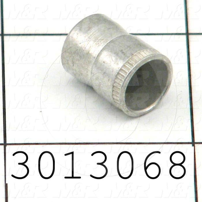 "Nutsert, AT Type, Thread Size 1/4-20, Outside Diameter 0.396"", Overall Length 0.530"""