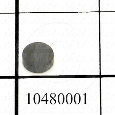 "Optical Filters, Filter Glass, Hoya Glass # U-360, 0.375"" Diameter, 0.125"" Thickness"