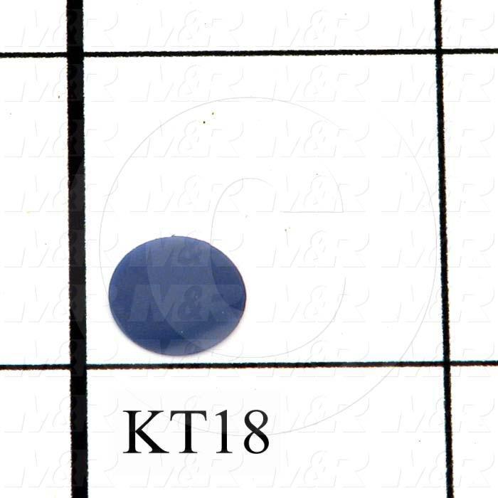 Optical Filters, Kodak Wratten Gelatin Filter, Deep Blue Tricolor, No. 47B, 2mm Thickness